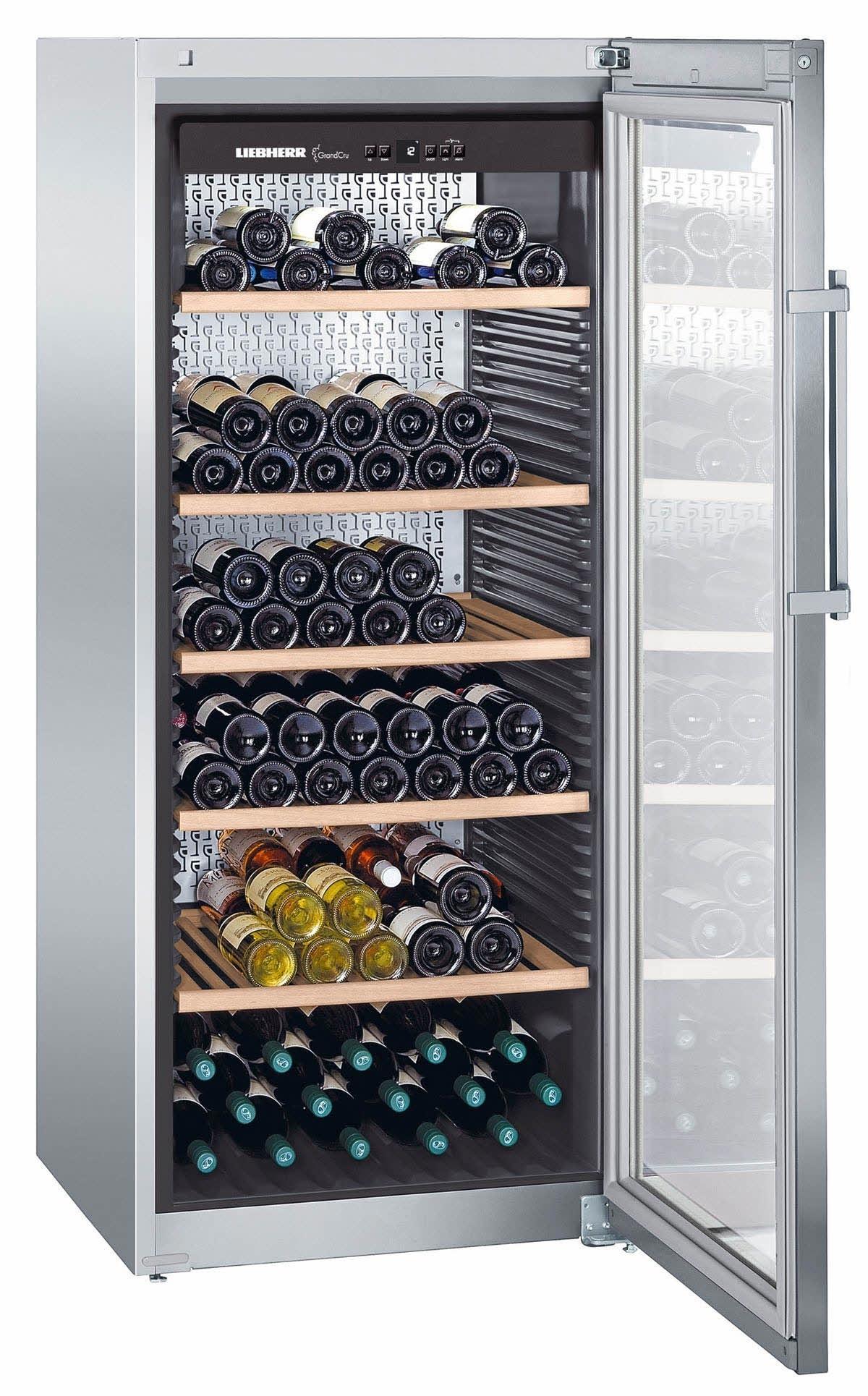 cave vin liebherr wkes 4552 pour le vieillissement et la. Black Bedroom Furniture Sets. Home Design Ideas