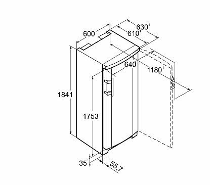 cong lateur liebherr gnp 3013 comfort nofrost. Black Bedroom Furniture Sets. Home Design Ideas
