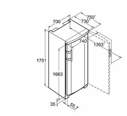cong lateur armoire liebherr gnp 3666 premium nofrost. Black Bedroom Furniture Sets. Home Design Ideas