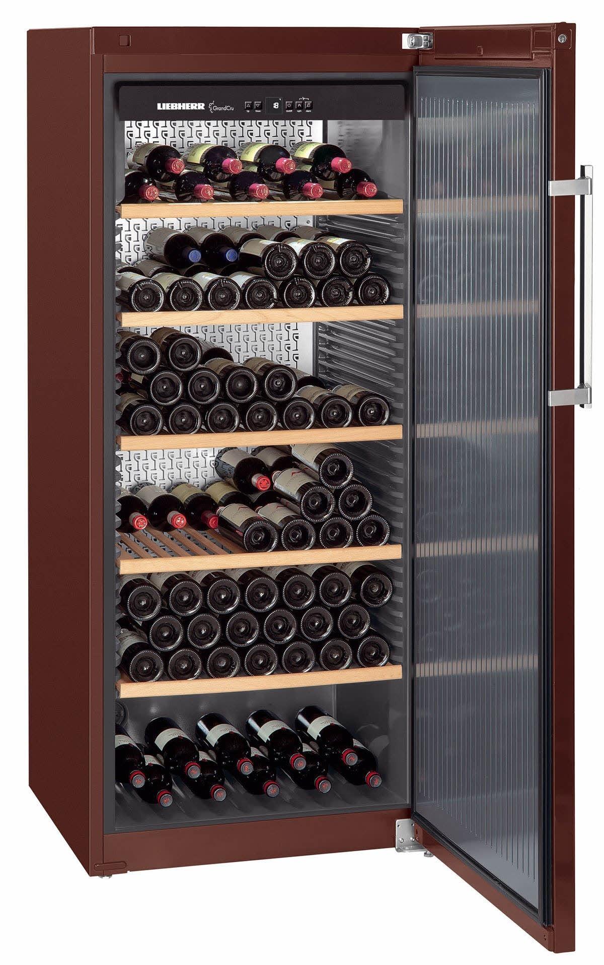 cave vin liebherr pour le vieillissement mod le wkt. Black Bedroom Furniture Sets. Home Design Ideas