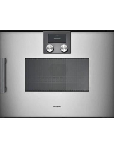 four combi vapeur gaggenau bmp 250 110 metallic gen ve. Black Bedroom Furniture Sets. Home Design Ideas