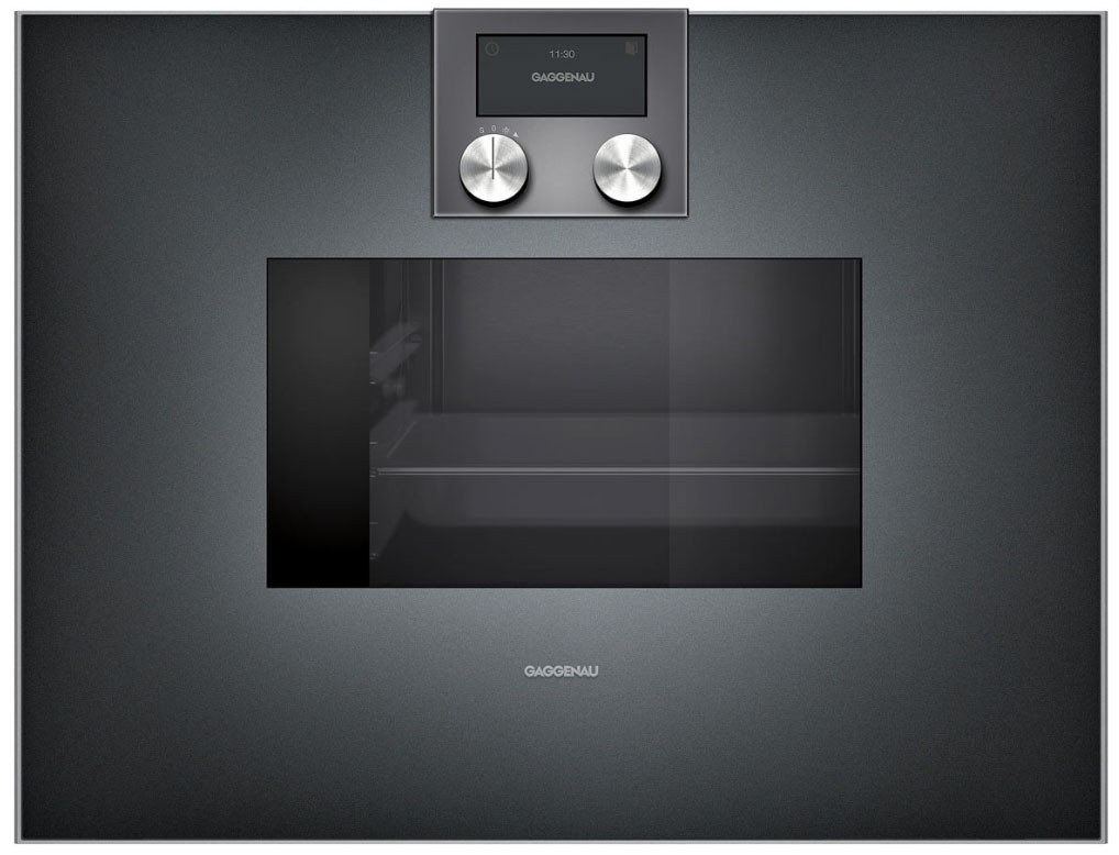 four combi vapeur gaggenau bs 470 101 anthracite gen ve. Black Bedroom Furniture Sets. Home Design Ideas