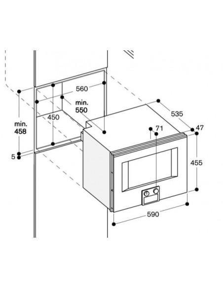 Gaggenau BS 450 110 Dimensions
