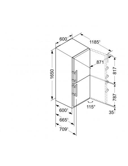 Liebherr CN 3715 Dimensions