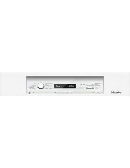 Miele G 26845-60 SCi XXL blanc - Tableau de bord