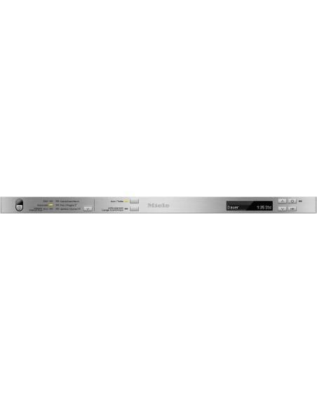 Miele G 16760-60 SCVi - Tableau de bord