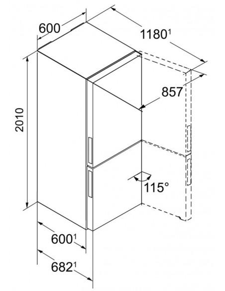 Liebherr CBNPgw 4855 Dimensions