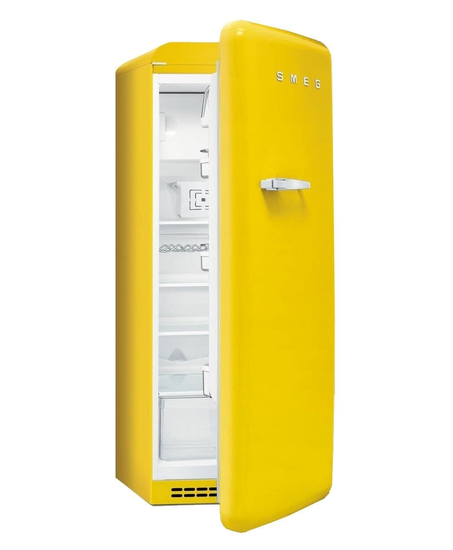 r frig rateur smeg fab28rg1 jaune charni re droite. Black Bedroom Furniture Sets. Home Design Ideas