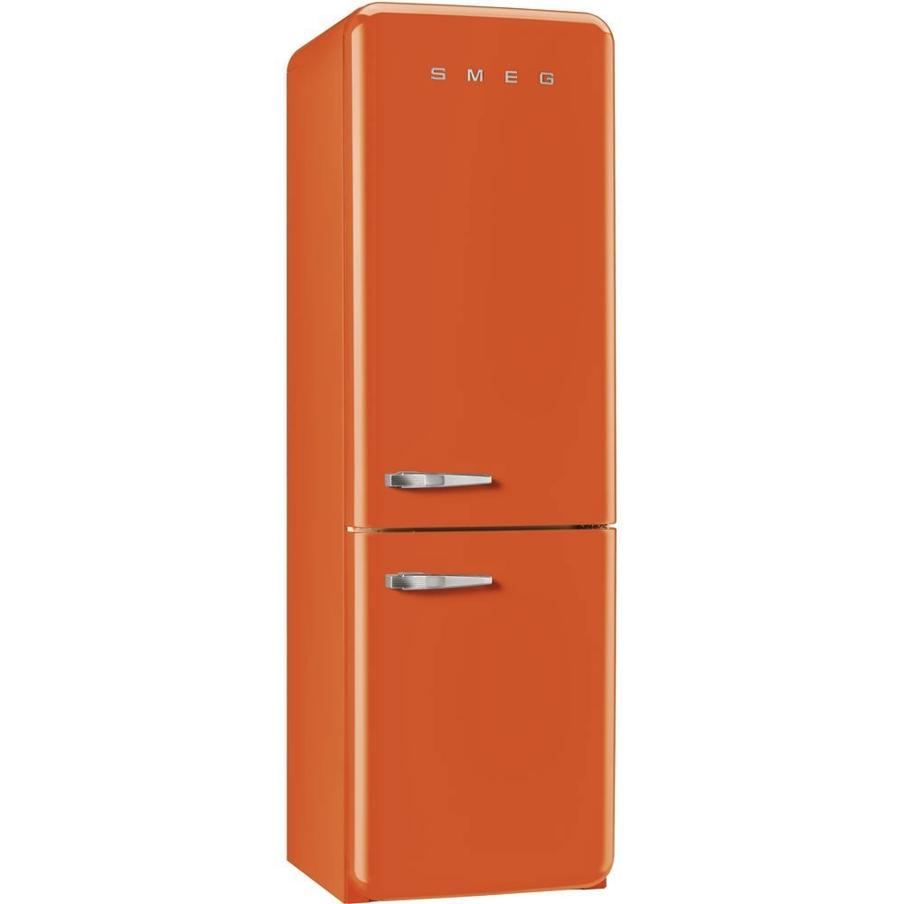 r frig rateur smeg fab32ron1 orange charni re droite nofrost. Black Bedroom Furniture Sets. Home Design Ideas