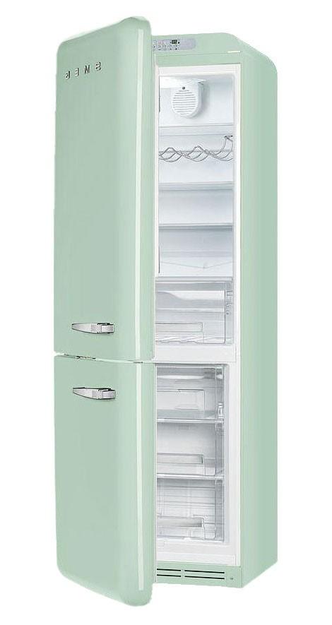 r frig rateur smeg fab32lvn1 vert d 39 eau charni re gauche nofrost. Black Bedroom Furniture Sets. Home Design Ideas