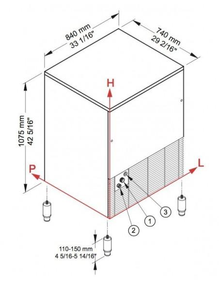 Brema CB 1265 - Dimensions