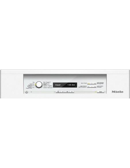 Miele G 3525-55 SCi blanc - Panneau de commande