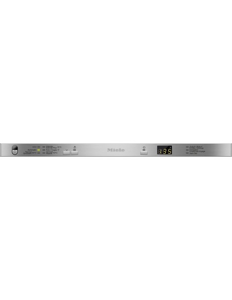 Miele G 3385-55 SCVi inox - Tableau de commande