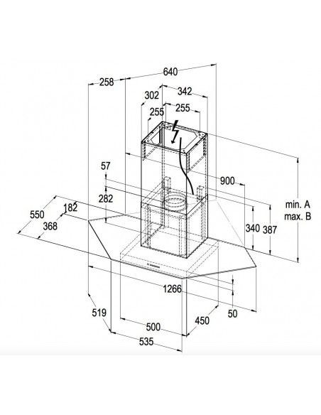 Wesco EHE SCALA 110 INOX - Dimensions