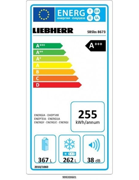 Liebherr SBSbs 8673 Premium BioFresh NoFrost IceMaker