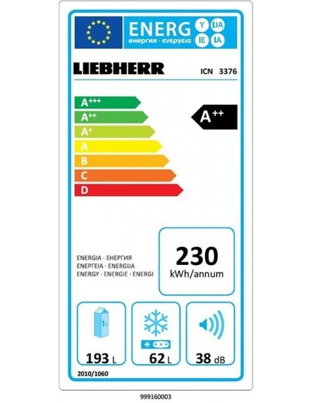 Liebherr ICN 3376 Premium NoFrost