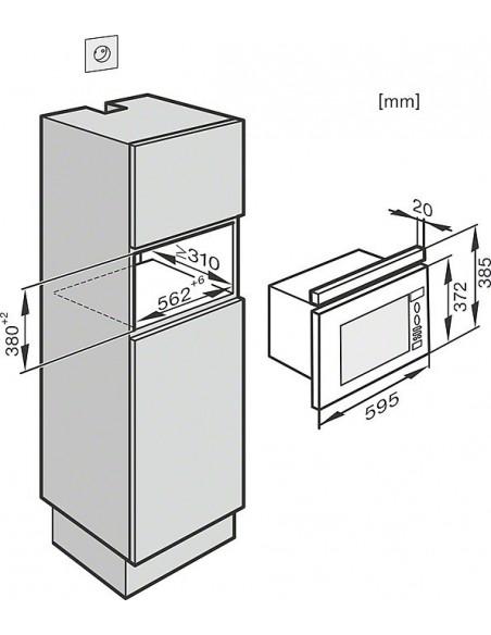 Miele M 6032-60 SC inox