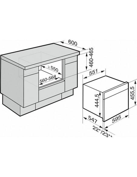 Miele DGM 6800-60 inox