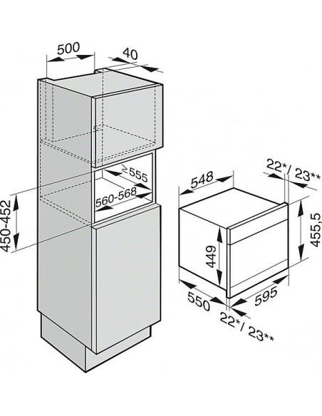 Miele DGC 6600-60 inox