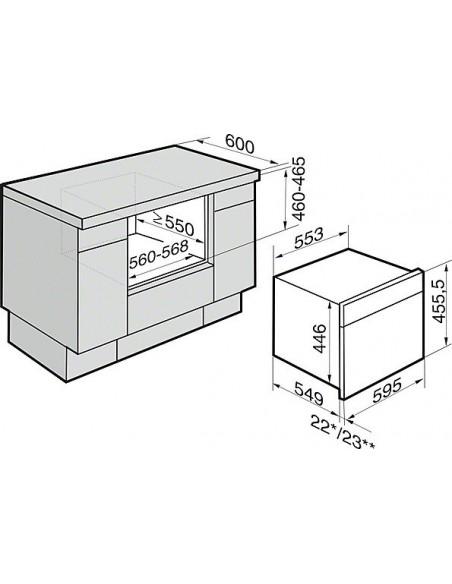 Miele DG 6400-60 inox
