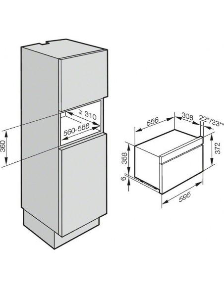 Miele DG 6030-60 inox