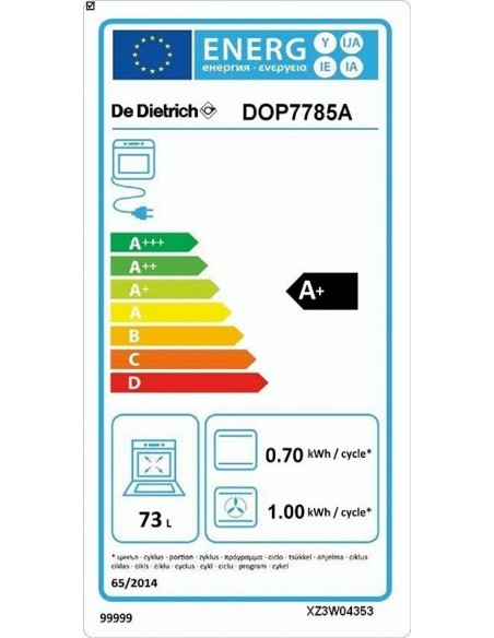 De Dietrich DOP7785A anthracite
