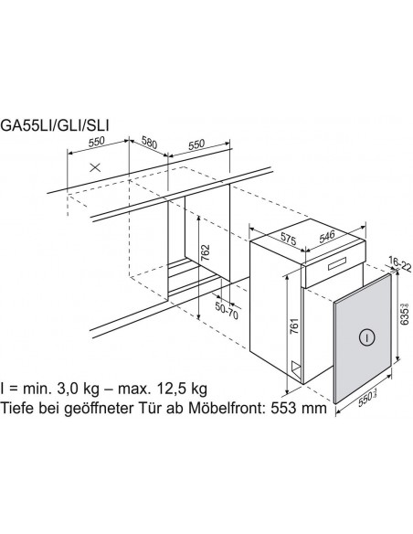 Electrolux GA 55 LI inox
