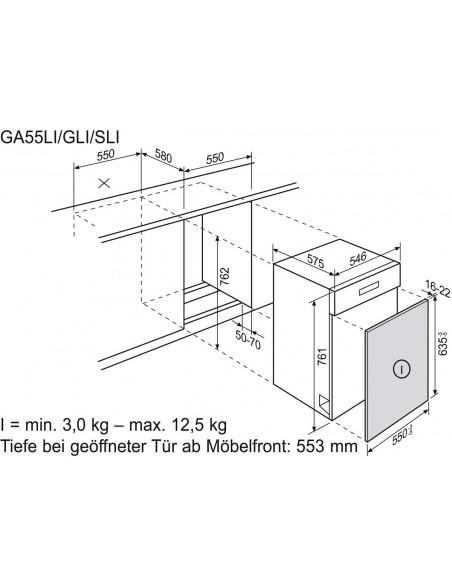 Electrolux GA55LiWE blanc