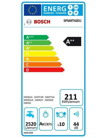 Bosch SPS69T42EU - Modèle d'expo