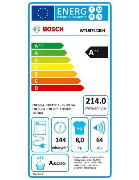 Bosch WTU87440CH