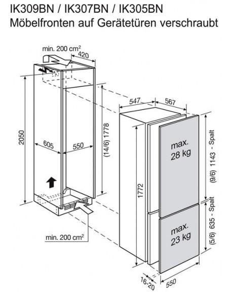 Electrolux IK 305BN NoFrost