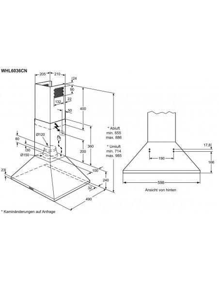 Electrolux WHL6036CN
