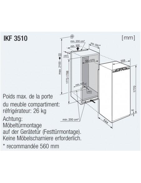 Liebherr IKF 3510 Comfort