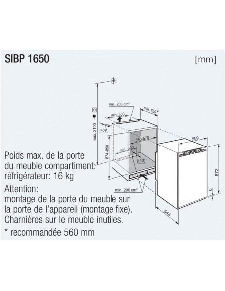 Liebherr SIBP 1650 Premium BioFresh
