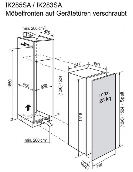 Electrolux IK283 SA