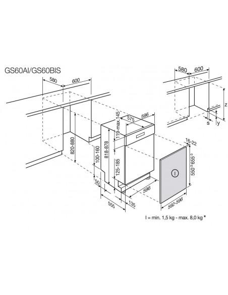 AEG Favorit GS60AIM - encastrement