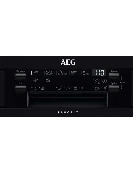 AEG Favorit GS60AIB noir - commande