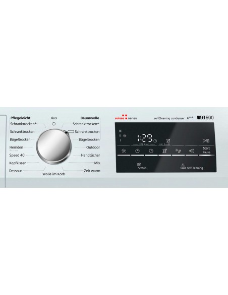 Siemens WT47W491CH iQ500 - commande