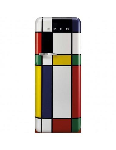 SMEG FAB28RDMC3 - Multicolors - Ch. droite