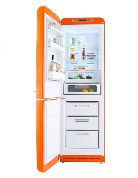 Smeg FAB32LOR3 Orange - Ch. gauche - ouvert