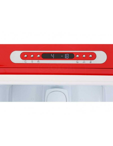 Smeg FAB32LRD3 Rouge - Ch. gauche - commande