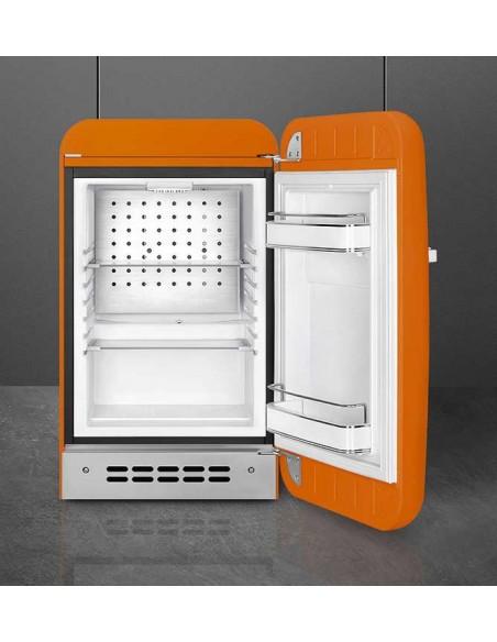 Smeg FAB5ROR3 Orange - Ch. droite - ouvert