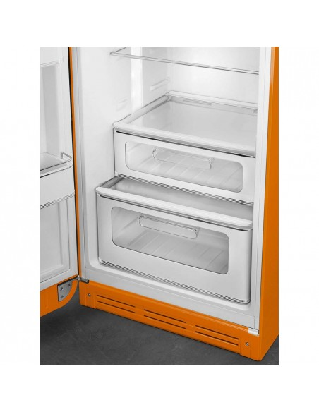 Smeg FAB30LOR3 Orange - Ch. gauche - tiroirs à légumes