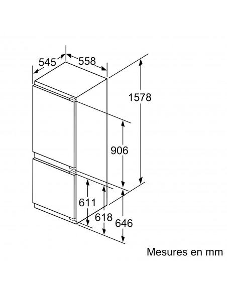 Siemens KI77SAD40 - dimensions