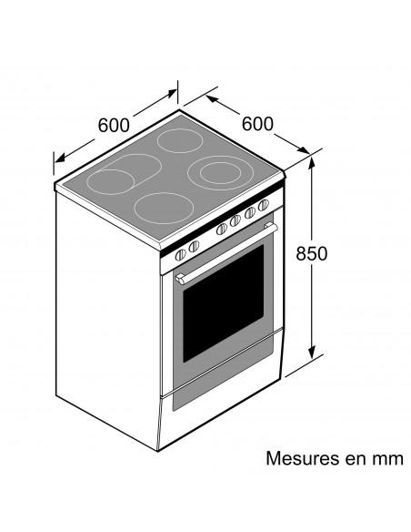 Siemens HK9S7R220 - dimensions