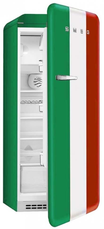 r frig rateur smeg fab28rit1 drapeau italien charni res droites. Black Bedroom Furniture Sets. Home Design Ideas