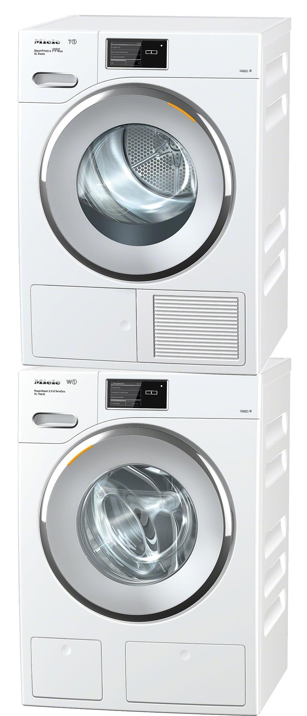 colonne de lavage et s chage miele wmv 900 60 ch tmv 800 40 ch. Black Bedroom Furniture Sets. Home Design Ideas