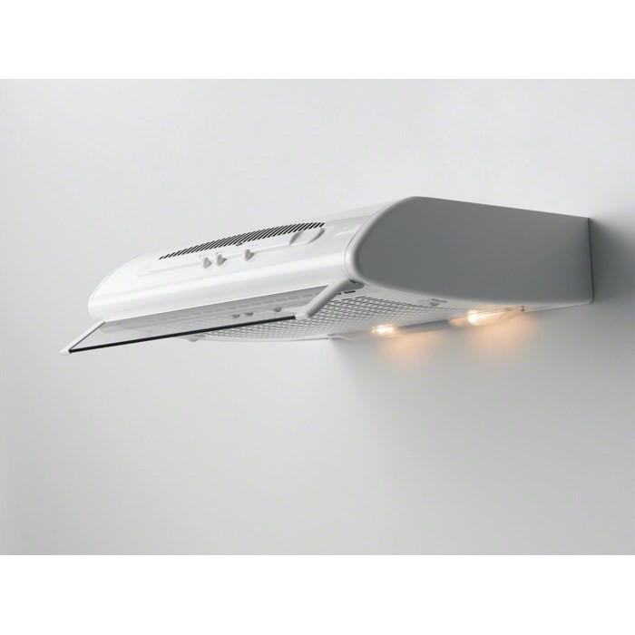 hotte encastrable Electrolux DVK5500WE blanche - Installation à Genève