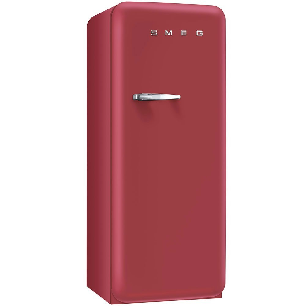 r frig rateur smeg fab28rrv1 rouge velours charni re droite. Black Bedroom Furniture Sets. Home Design Ideas