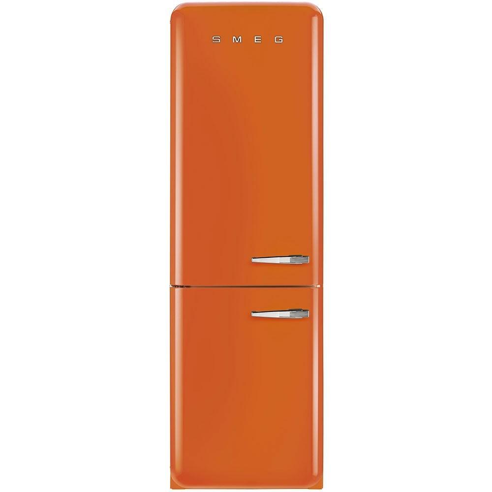 r frig rateur smeg fab32lon1 orange charni re gauche nofrost. Black Bedroom Furniture Sets. Home Design Ideas